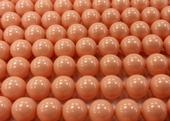8mm SWAROVSKI® ELEMENTS Pink Coral Crystal Pearl Beads - 20 pearls for jewellery making, beadwork and craft